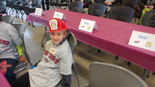 Fire Chief for the Day - Oliver